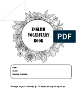 Vocab and Meaning  yEAR 6