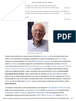 Media Bias Against Bernie Sanders - Wikipedia
