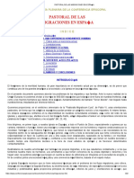 PASTORAL DE LAS MIGRACIONES EN ESPAÑA