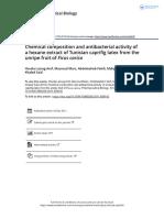 Evaluación antimicrobiana