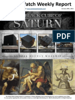 The Black Cube of Saturn