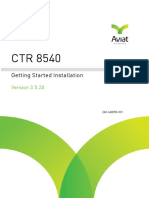 CTR 8540 3.5.20 Getting Started Install Guide_January2018