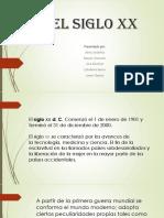 Diapositivas Del Siglo Xx..