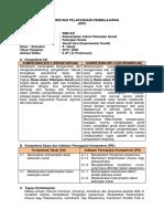 RPP Keterampilan Teknis Pekerjaan Sosial 10 Smk