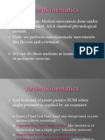 Ch 4 Arthrokinematics