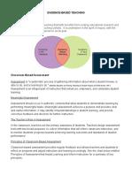 Evidence-Based Teaching Handout Ppp 4 Atc