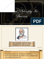 Classical Philosophy in Business
