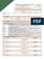 Formato Pca 2019 - 2020 Colegio
