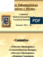 Tumores Odontogénicos Mesodérmicos y Mixtos.