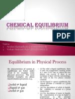 Chemical Equilibrium PTK Ing