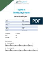 E7.1 Vectors 2B Topic Booklet 2 CIE IGCSE Maths