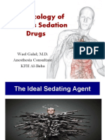 Pharmacology of Sedative Drugs