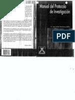 MONTESANO, J Manual-Del-Protocolo de investigacion.pdf
