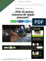 FOTOS_ El Curioso Concurso de 'Papás Panzones'