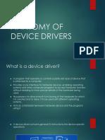 Anatomy of Device Drivers