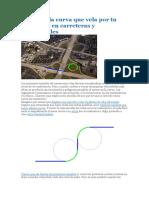 Clotoide, la curva que vela por tu seguridad en carreteras y ferrocarriles