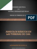 3.2 ARREGLOS BASICOS EN LAS TURBINAS DE GAS.pptx