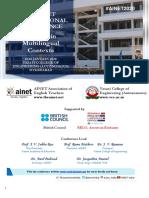AINET 2020 Announcement