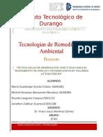 Tecnología de Remediacion de suelos