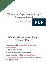 BJT-Internal-Capacitance and Hybrid Pi Model