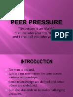 11 Peer Pressure PPT