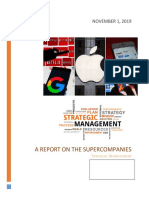 A Report on the Supercompanies