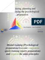 Periodization of Psychological Preparation