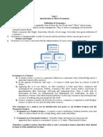 BBA-1st Sem Micro Economics Notes
