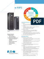 Eaton 93PS 8-40 KW Data Sheet Español