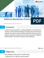 HC110110005 Address Resolution Protocol
