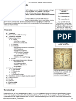 Ten Commandments - Wikipedia, The Free Encyclopedia