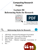 4. Lecture 04 Referencing