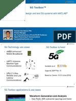 5G Toolbox Model, Simulate, Design