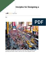 Seven Proven Principles for Designing a Safer City