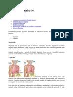 mecanica respiratiei