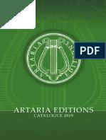 Artaria Editions Catalogue 2019