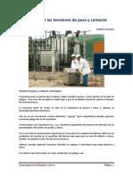 TENSIONES DE PASO Y CONTACTO