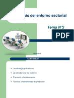 El Análisis Del Entorno Sectorial Tema3