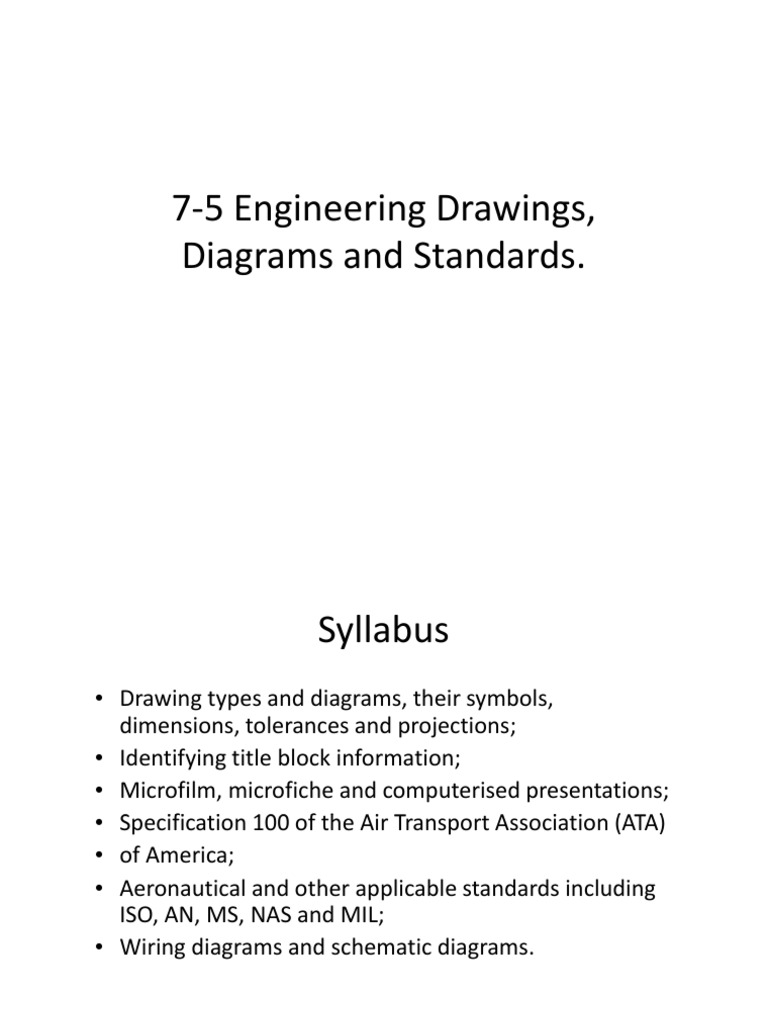 7 5 engineering drawings diagrams and standards microform aircraft