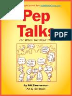 Pep-Talks