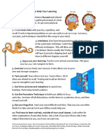 10 Top Ideas to Help Your Learning and 10 Pitfalls 1