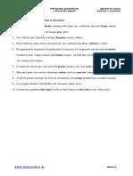 ADJECTIFS DE COULEUR