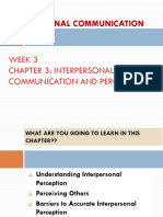 Wk 3 - Ic and Perception