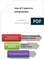 Chapter 2 and 3 Discourse Analysis (Gillian Brown and George Yule)