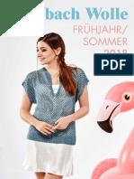 Steinbach Wolle Fruhjahr - Sommer Magazine 2018
