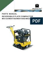 MS125 MS160 MS250 Parts Manual Version011401
