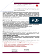 Fact Sheet Autoclaved Waste