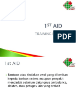 First Aid Training PT. Aesculap Medical Center (AMC)