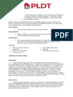 Pldt Company Profile