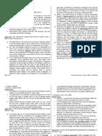 RG Alfaro Doctrines - Torts (Persons Liable)
